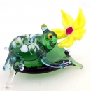 Frog on a Lily pad glass