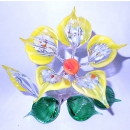 The composition of glass Flower